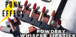 Pony Effect Powdery Whisper Lipstick cover