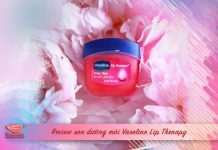 Review son dưỡng môi Vaseline Lip Therapy cover